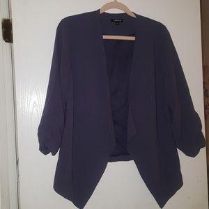 TORRID Muted Purple Blazer